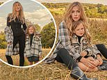 Abbey Clancy's mini-me daughter Liberty, six, follows in her footsteps in F&F clothing campaign