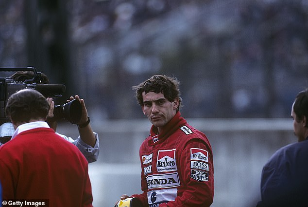 Senna (pictured) and Schumacher were set to have a titanic battle for the 1994 F1 world title