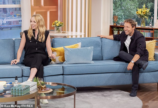 New project: Jodie appeared on This Morning alongside fellow Scouse actor Stephen Graham who she stars with in their new drama Help about life in care homes during the pandemic