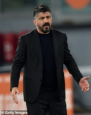 Gattuso managed Milan briefly