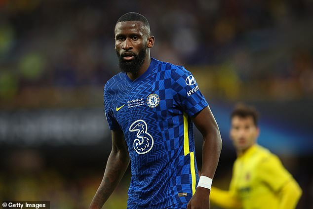 Antonio Rudiger's contract at Chelsea expires next summer and a new deal is not yet agreed