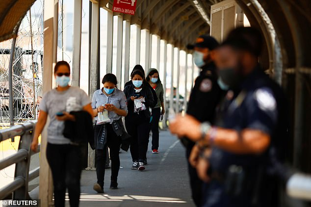Anyone crossing the border has had the option to get vaccinated since early August, but it is on a voluntary basis and migrants will still not need the shot or proof of vaccination toenter the country.