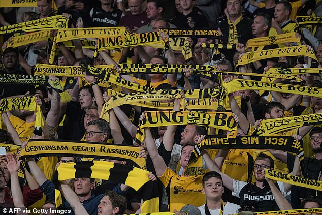 Young Boys victory was met with jubilation by supporters who generated great atmosphere
