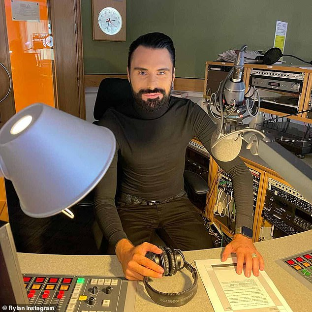 He's back! It comes after Rylan returned to BBC Radio 2 for the first time earlier this month since his 10-week break from the show after his marital split from husband Dan