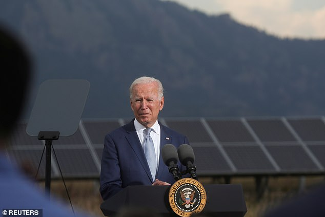 President Biden is due to deliver remarks on5pm on 'a national security initiative,' but the White House has not released further details