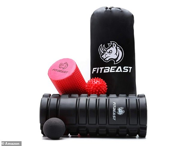 The highly-ratedFitBeast 4 Piece Set for Deep Tissue Muscle Massage is now on sale with 40 per cent off on Amazon
