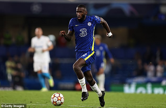 Chelsea's contract talks with Antonio Rudiger (above) are not progressing well at the moment
