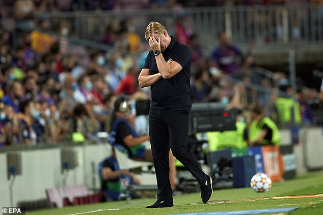 Ronald Koeman had no answers for Barcelona's diabolical display after their 3-0 drubbing