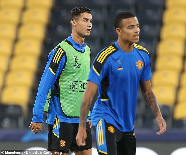 The United legend said not playing Mason Greenwood (right) at all was the wrong decision