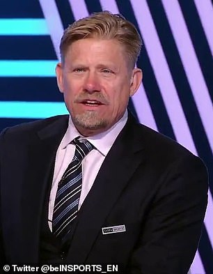Schmeichel (pictured) was the latest ex-United player to question Solskjaer's decisions