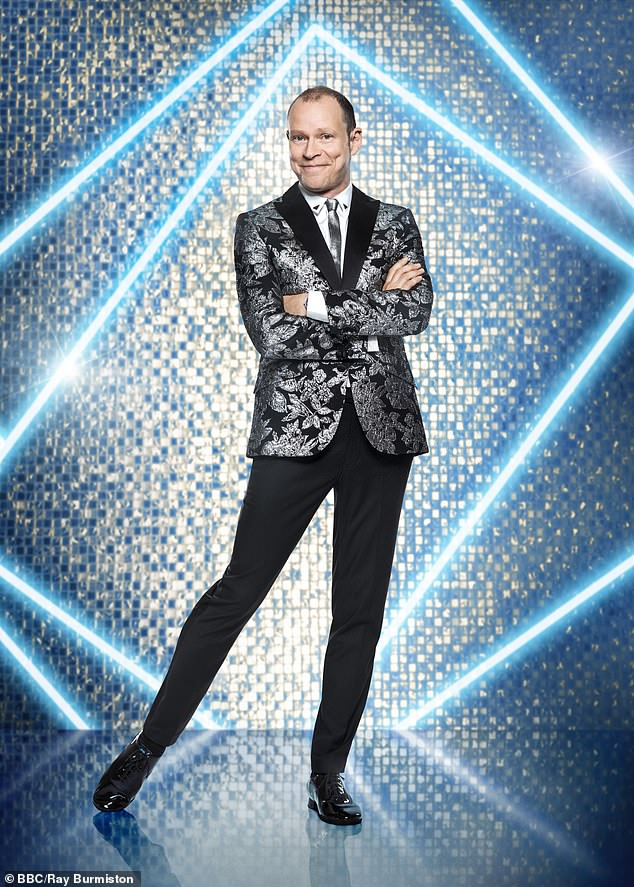 Getting his sequins on!Strictly Come Dancing star Robert Webb has revealed his life-saving heart surgery spurred him to sign up in the show so he can 'reconnect with his audience'