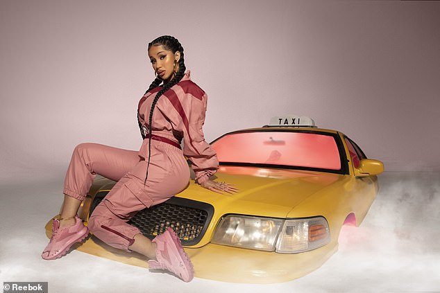 She would be a fresh voice:Also floated by have been Channing Tatum and Cardi B (pictured)