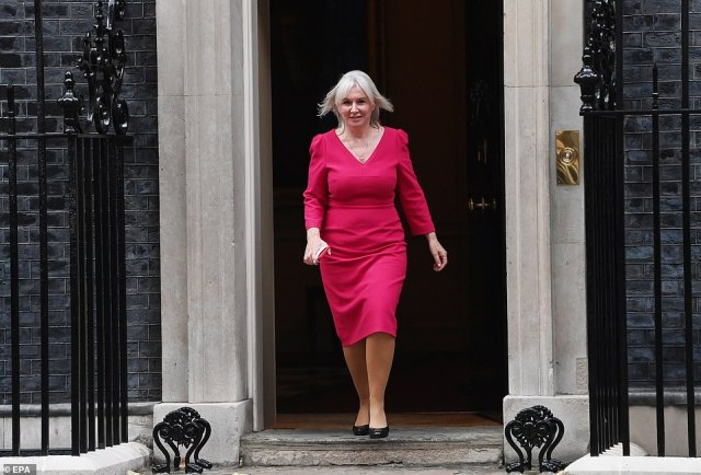 One of yesterday's biggest surprises was the promotion to Culture Secretary of the former nurse Nadine Dorries (pictured leaving No 10 on Wednesday). A controversial figure, she will be an extremely robust voice in the Cabinet against the woke brigade