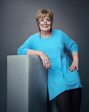 British columnist Jenny Murray (pictured) says women fought for equality, not just erasing