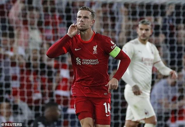 Peter Crouch has described Liverpool captain Jordan Henderson's stunning Champions League winner as reminiscent of one of legendary former skipper Steven Gerrard's goals