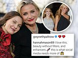 Drew Barrymore, 46, and Cameron Diaz, 49, praised for 'aging gracefully' without 'fillers' in snap