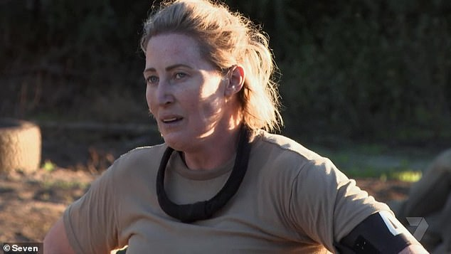 'Honest and frank':Jana Pittman was praised by viewers on Wednesday's SAS Australia, following a relatable moment that many mothers have suffered post-partum