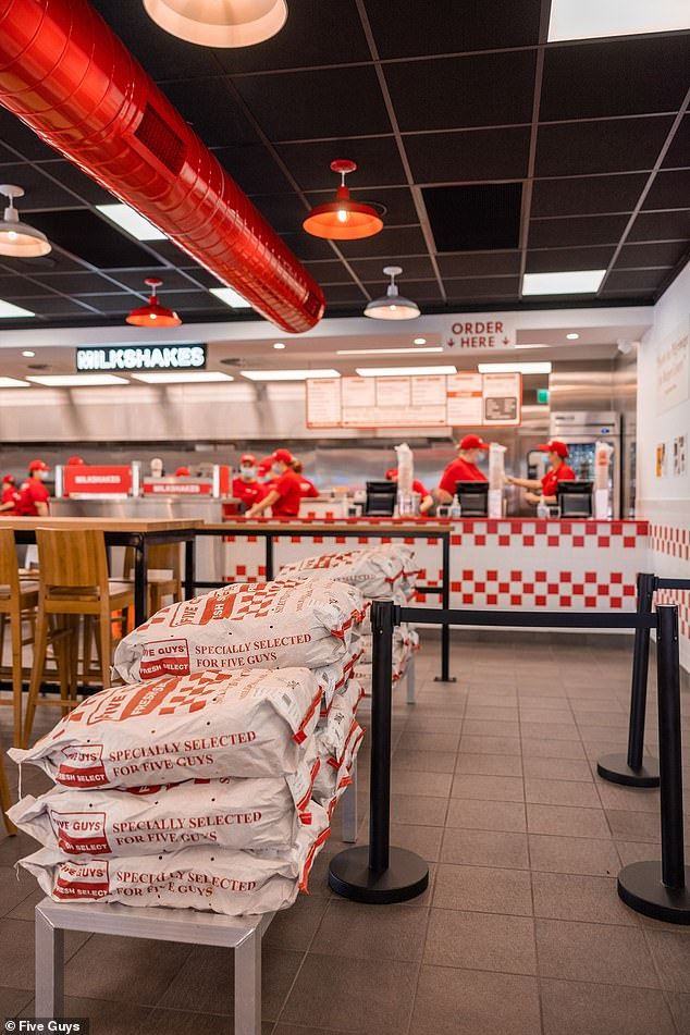 After years of rumours swirling about Five Guys heading Down Under, Seagrass Boutique Hospitality in Sydney confirmed in mid-2020 it had secured the rights to the brand's master franchisee in Australia (picture of the new Penrith restaurant)