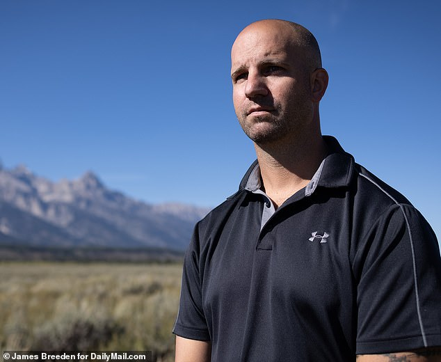 James Schmidt, former fire chief for the Blue Point Fire Department, (pictured) traveled to Wyoming Wednesday to assist authorities in their efforts to locate Petito, 22, who traveled to the state's Grand Teton National Park in late August with her boyfriend, Brian Laundrie.