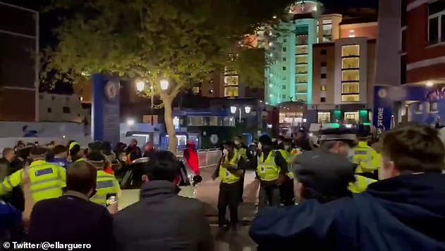 Kante was mobbed by a group of jubilant Chelsea supporters in May as he left in a MINI