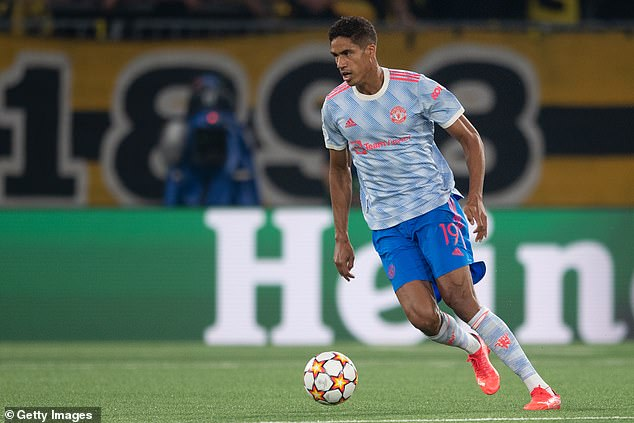 Varane experienced his first defeat in a United shirt as they lost to Young Boys on Tuesday
