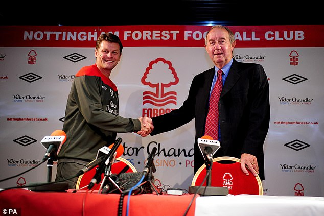Steve Cotterill did a good job at Forest but it was not enough to save him from the sack