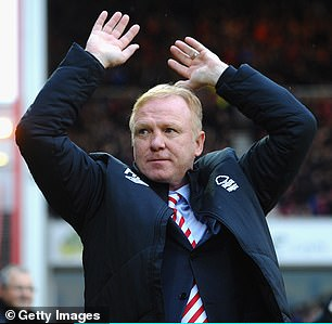 Alex McLeish stayed for 40 days