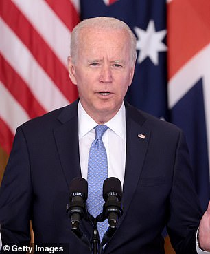 President Joe Biden said he has complete confidence in Milley