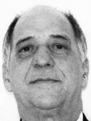 Reputed street boss of the Colombo crime family Andrew 'Mush' Russo, 85, was arrested in an early-morning raid Tuesday