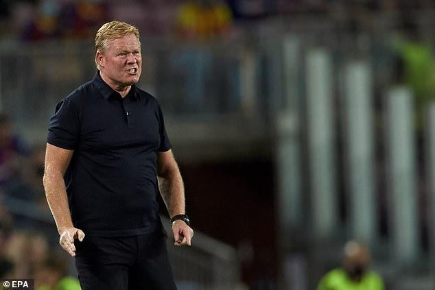 Braithwaite is the latest forward to join Ronald Koeman's lengthy injury list at Barcelona