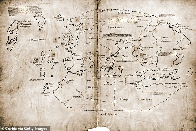 The map is said to prove the Norsemen, not Christopher Columbus, were the first Europeans to reach the New World.