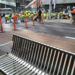 Covid-19 Australia: Melbourne construction workers stage protest against new restrictions 💥👩💥