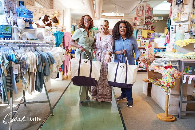 Journey: Perry also told the ladies about her motherhood journey, revealing: