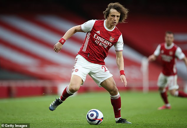 Luiz played 73 times for Arsenal over two years and has since joined Brazilian club Flamengo