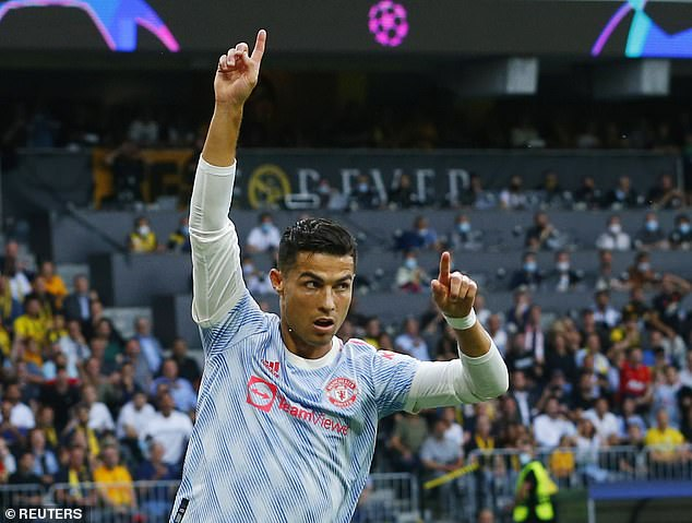 Cristiano Ronaldo has wasted no time getting off the mark for Manchester United