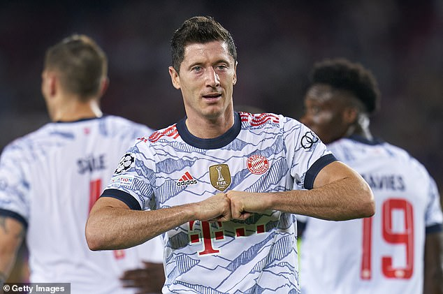 Robert Lewandowski is in red-hot form and has 29 goals in just 18 Bayern Munich games