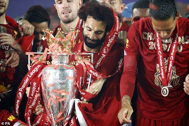 Jurgen Klopp's side followed that up by ending their long wait for the English title in 2020