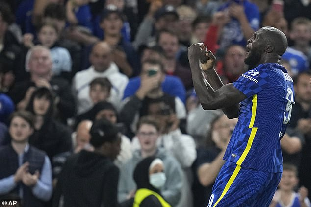 On the other hand, Chelsea striker Romelu Lukaku (pictured) is in red-hot goalscoring form