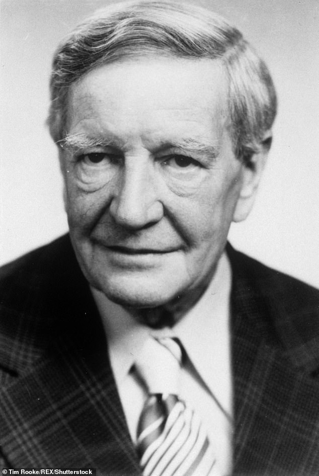 Philby (pictured) had been very Left-wing in his Cambridge University days, but he kept from Aileen the fact that he was secretly working for the Soviet Union, having been recruited back in 1934 when he had returned from Austria with Litzi