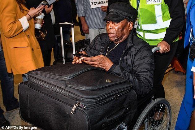 Plagued by health issues in recent years, Pele now uses a wheelchair during public outings