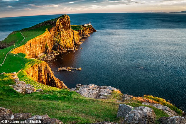 Jamie recalls a wonderful trip to the Isle of Skye. Pictured is Neist Point, the island's most westerly tip