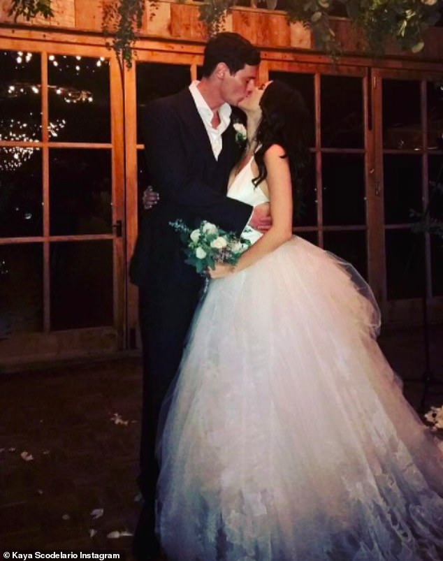 Romance: The couple got married in 2015 and shared pictures from their day on social media