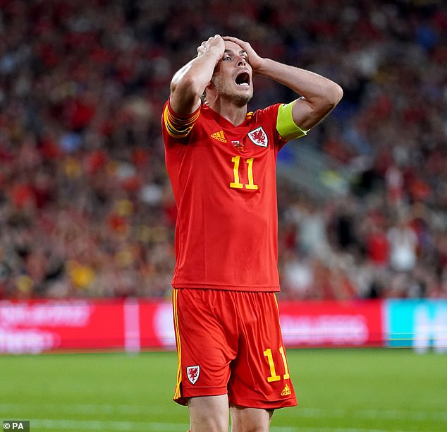 Bale is set to miss Wales' qualifying fixtures next month and is a doubt for November's games