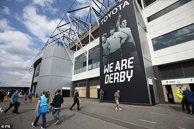 Derby could face further sanctions by the EFL over a dispute in regards to spending rules