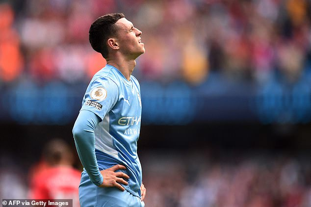 But it was City's players who didn't turn up, with no shots at all until a late Phil Foden header