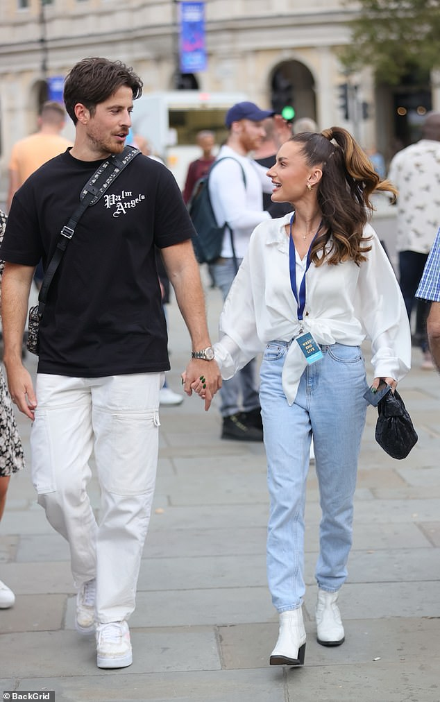 Reunion: Former Love Island contestant moves out with her on-and-off boyfriend Nick Kiriakou as they rekindled their romance after their split in August