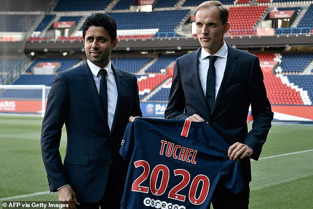Tuchel continued his rise at PSG securing the Ligue 1 crown twice in successive years