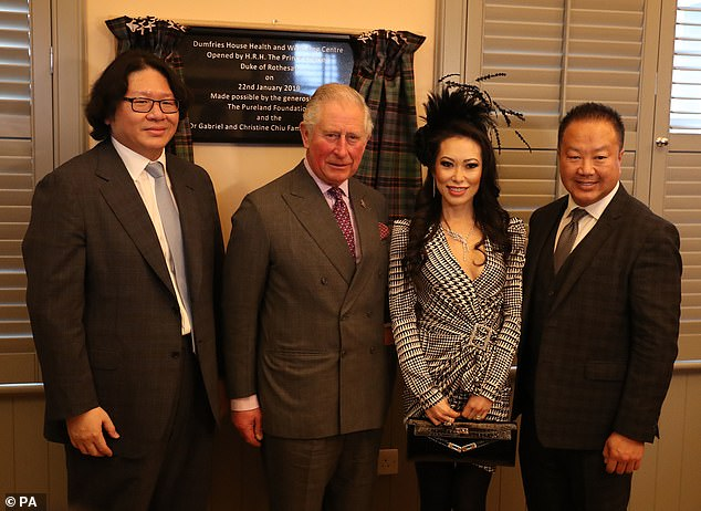 A a deeply private – some might even say mysterious – individual, Bruno Wang rarely courts publicity. Still, he was willing to pose for a photograph with Prince Charles in January 2019 at the opening of a health and wellness centre at Dumfries House