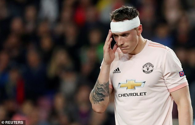 Phil Jones felt 'the lowestI've ever been as a human' during his Manchester United injury hell