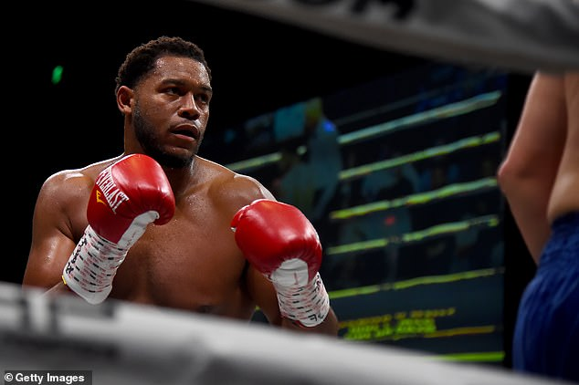 American Michael Hunter was handed the only defeat of his pro career to Usyk back in 2017